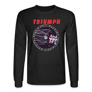 Men's Rock & Roll Machine Long Sleeve Tee - Men's Long Sleeve T-Shirt