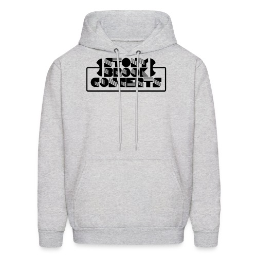 Stony Brook Concerts Men's Hooded Sweatshirt (Black Lettering) - Men's Hoodie