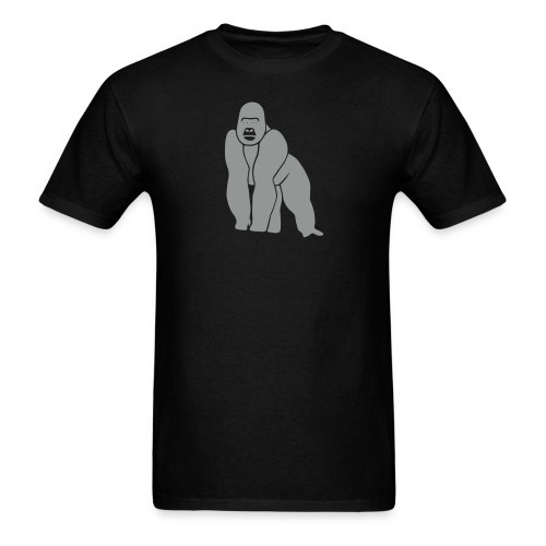 animal t-shirt gorilla ape monkey king kong godzilla silver back orang utan T-Shirts - Men's T-Shirt