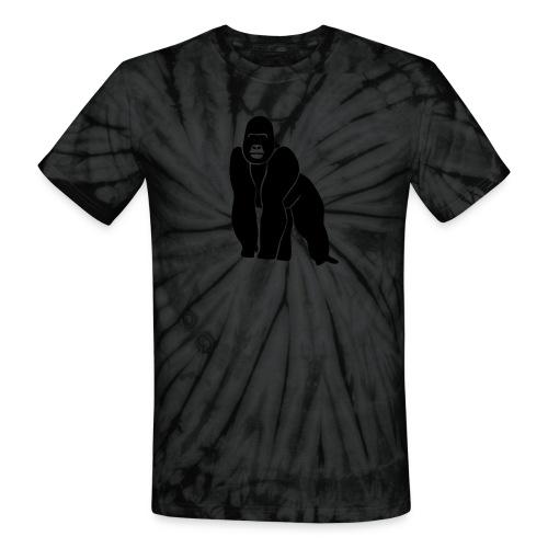 animal t-shirt gorilla ape monkey king kong godzilla silver back orang utan T-Shirts - Unisex Tie Dye T-Shirt