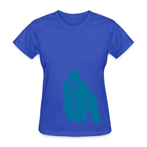 animal t-shirt gorilla ape monkey king kong godzilla silver back orang utan T-Shirts - Women's T-Shirt