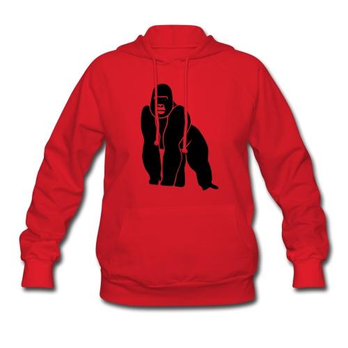 animal t-shirt gorilla ape monkey king kong godzilla silver back orang utan T-Shirts - Women's Hoodie
