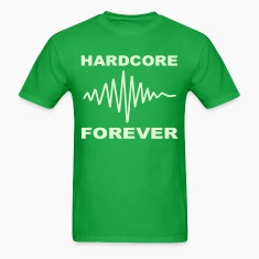 Hardcore music Forever Glow in the Dark T-shirt