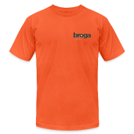T-Shirts ~ Men's T-Shirt by American Apparel ~ Classic Orange