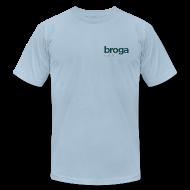 T-Shirts ~ Men's T-Shirt by American Apparel ~ Classic Blue