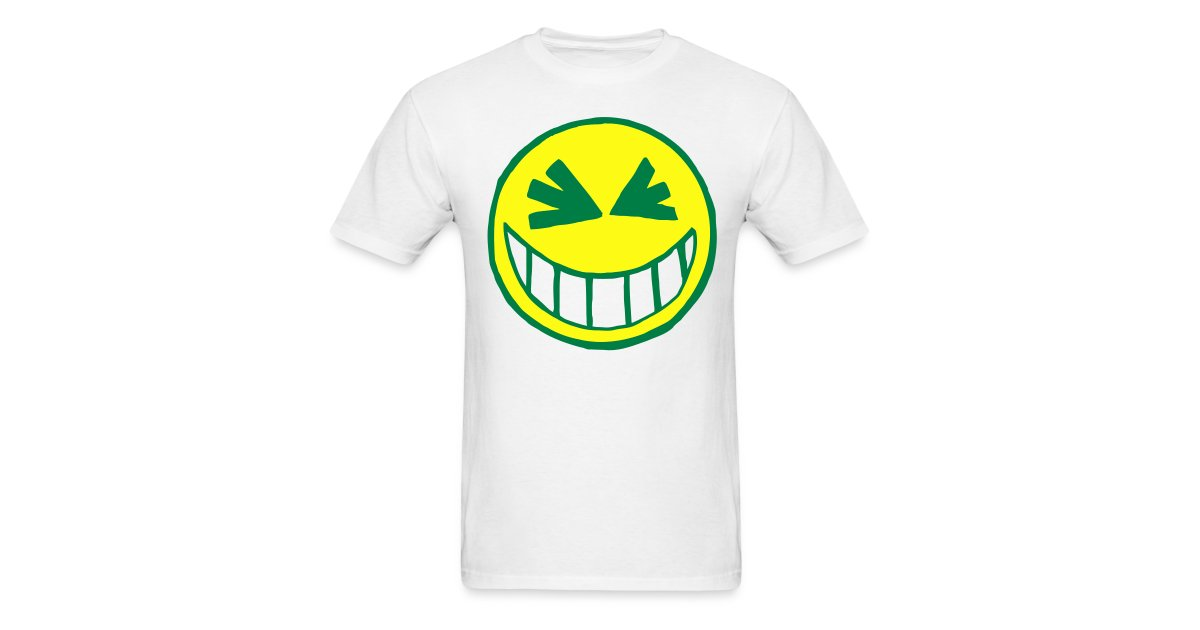 329085bb2 Rave DJ & Smiley Face T-shirts & Clothing USA | Grinning Smiley Face ...