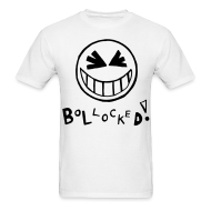 T-Shirts ~ Men's T-Shirt ~ Bollocked Smiley Face T-shirt