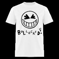 T-Shirts ~ Men's T-Shirt ~ Bollocked Smiley Face T-shirt