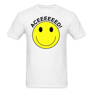 Aceeeed! Smiley Face T-shirt - Men's T-Shirt
