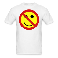T-Shirts ~ Men's T-Shirt ~ Ban the Smiley Face T-shirt