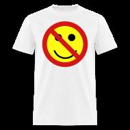 T-Shirts ~ Men's T-Shirt ~ Ban the Smiley Face T-shirt