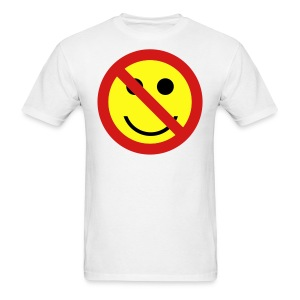 Ban the Smiley Face T-shirt - Men's T-Shirt