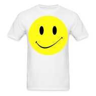 T-Shirts ~ Men's T-Shirt ~ Smiley Face T-shirt
