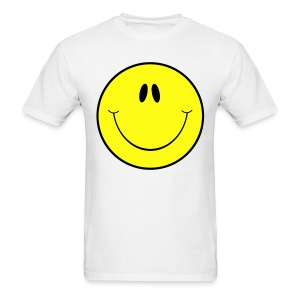Smiley Face T-shirt - Men's T-Shirt