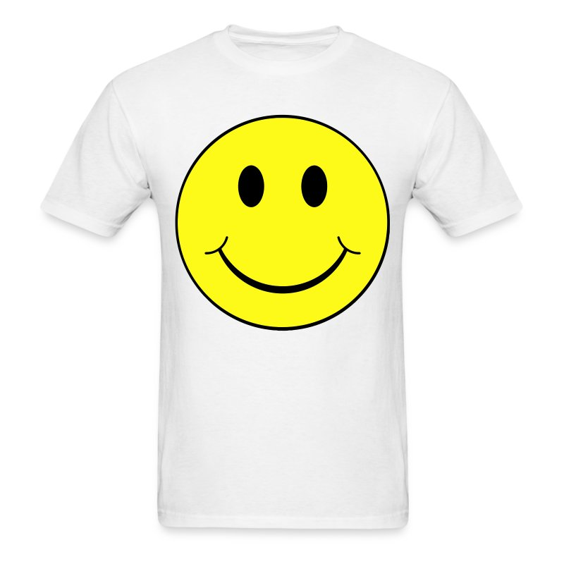 smiley face t shirts men 39 s t shirt. Black Bedroom Furniture Sets. Home Design Ideas