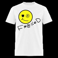 T-Shirts ~ Men's T-Shirt ~ Fucked Smiley Face T-shirt