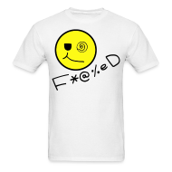 T-Shirts ~ Men's T-Shirt ~ Fucked Smiley Face T-shirt