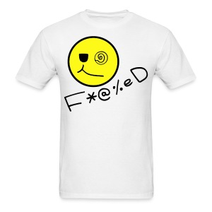 Fucked Smiley Face T-shirt - Men's T-Shirt