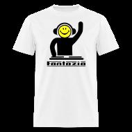 T-Shirts ~ Men's T-Shirt ~ Fantazia Smiley DJ T-shirt