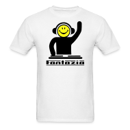 T-Shirts ~ Men's T-Shirt ~ Fantazia Smiley DJ T-shirt