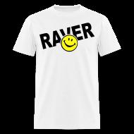 T-Shirts ~ Men's T-Shirt ~ Raver Smiley Face T-shirt
