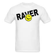 T-Shirts ~ Men's T-Shirt ~ Raver Smiley Face T-shirt