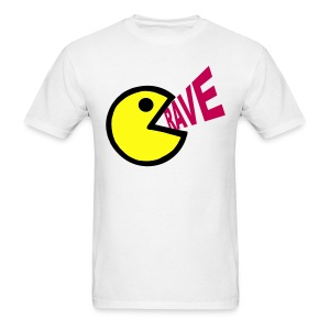 Smiley Face Shouting Rave T-shirt - Men's T-Shirt