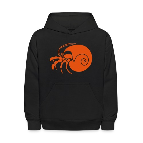 animal t-shirt hermit crab crayfish cancer shrimp prawn lobster ocean snail conch seafood sea food shellfish - Kids' Hoodie