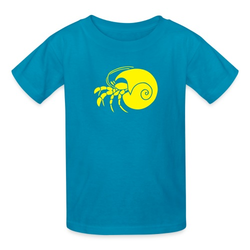 animal t-shirt hermit crab crayfish cancer shrimp prawn lobster ocean snail conch seafood sea food shellfish - Kids' T-Shirt