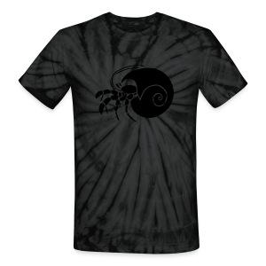 animal t-shirt hermit crab crayfish cancer shrimp prawn lobster ocean snail conch seafood sea food shellfish - Unisex Tie Dye T-Shirt
