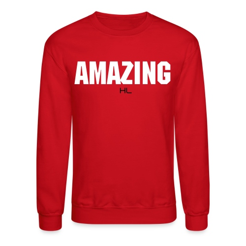 AMAZING CREW NECKS RED/WHITE - Crewneck Sweatshirt