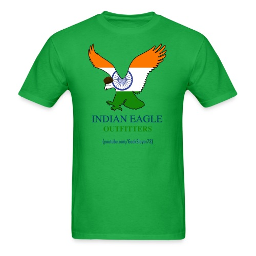 Indian Eagle Outfitters - Green (Men) - Men's T-Shirt
