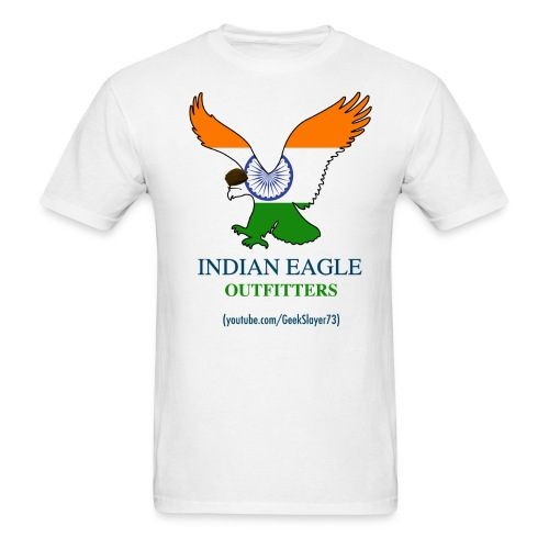 Indian Eagle Outfitters - White (Men) - Men's T-Shirt