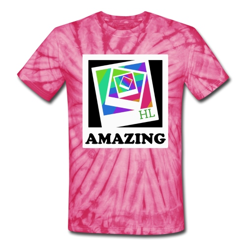 AMAZING Picture Perfect Tee - Unisex Tie Dye T-Shirt