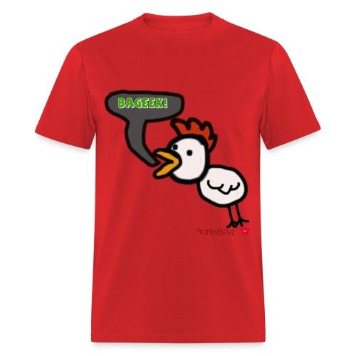Chicken BAGEEK Shirt Men  - Men's T-Shirt
