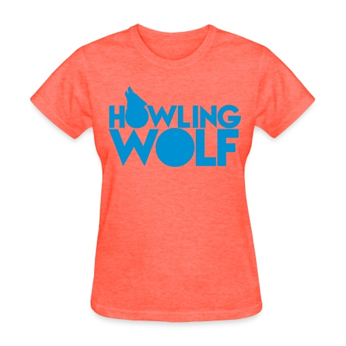 Women's Howling Wolf T-Shirt - Women's T-Shirt