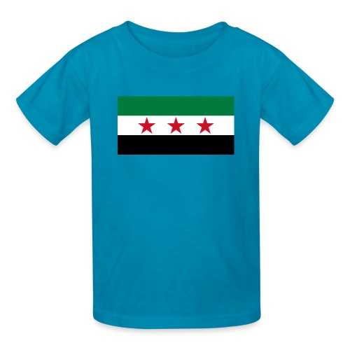 Syria Flag (pre-1963) - Kids' T-Shirt