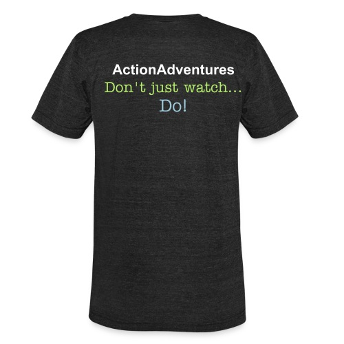 ActionAdventures - Vintage T - Unisex Tri-Blend T-Shirt by American Apparel
