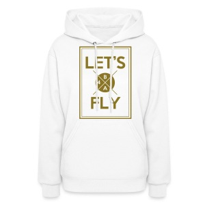 [B1A4] Let's Fly (Metallic Gold) - Women's Hoodie