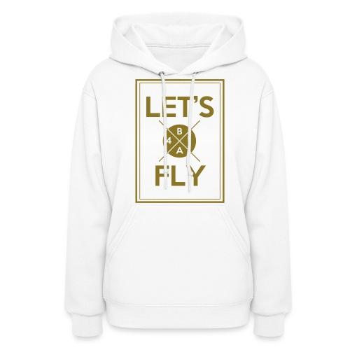 [B1A4] Let's Fly (Metallic Gold) - Women's Hoodie