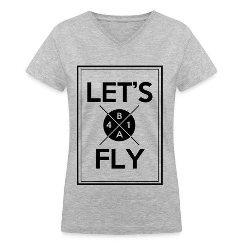 [B1A4] Let's Fly - Women's V-Neck T-Shirt