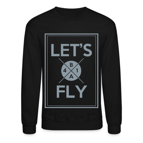 [B1A4] Let's Fly (Metallic Silver) - Crewneck Sweatshirt