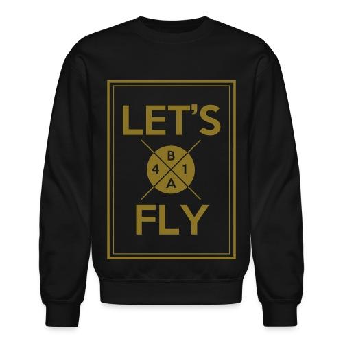 [B1A4] Let's Fly (Metallic Gold) - Crewneck Sweatshirt