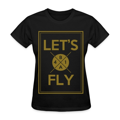 [B1A4] Let's Fly (Metallic Gold) - Women's T-Shirt