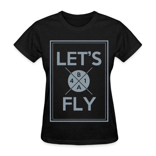 [B1A4] Let's Fly (Metallic Silver) - Women's T-Shirt