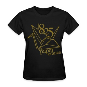 [EH] 1825 Paper Cranes (Metallic Gold) - Women's T-Shirt