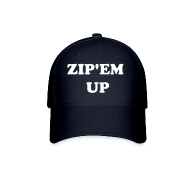 Caps ~ Baseball Cap ~ Zip'em Up Hat