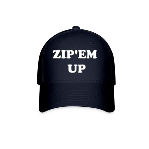 Zip'em Up Hat - Baseball Cap