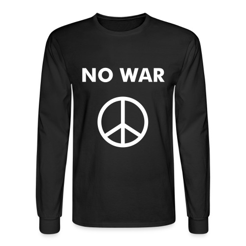 No War - Men's Long Sleeve T-Shirt