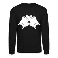 Long Sleeve Shirts ~ Crewneck Sweatshirt ~ XO Hands